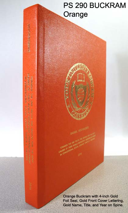Case Bound Book Cover Material : Fabric hard cover binding services phd book