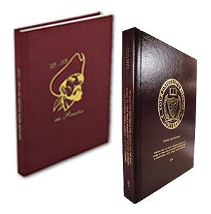 Fabric Hard Cover with Gloss Paper