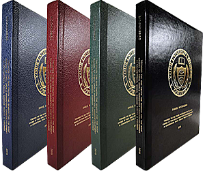 Thesis And Dissertation Binding - PHD Bookbinding